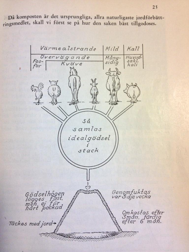Om olika sorts stallgödsel ur skriften Täppan i beredskap
