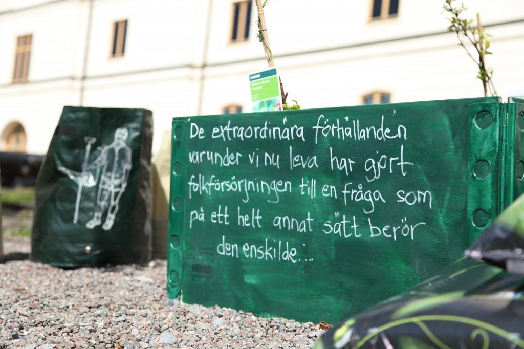 Täppan i beredskap anläggs 4 maj 2013