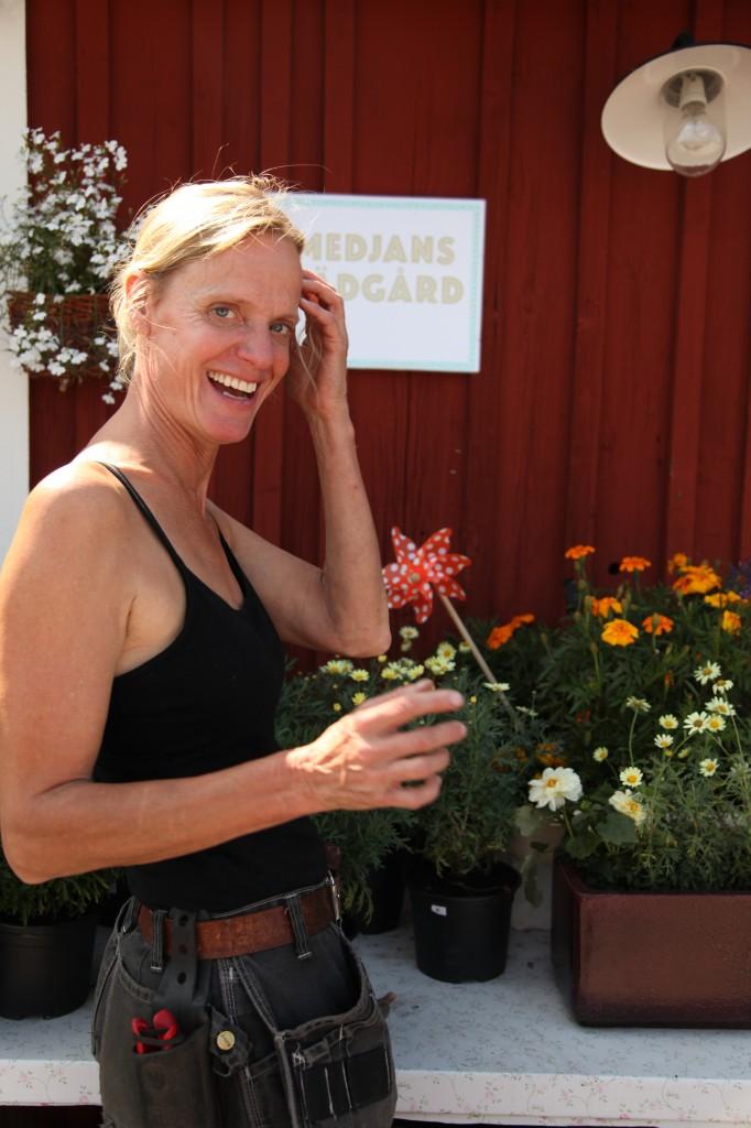 Ninna på Smedjans trädgård ©Ulrika Flodin Furås