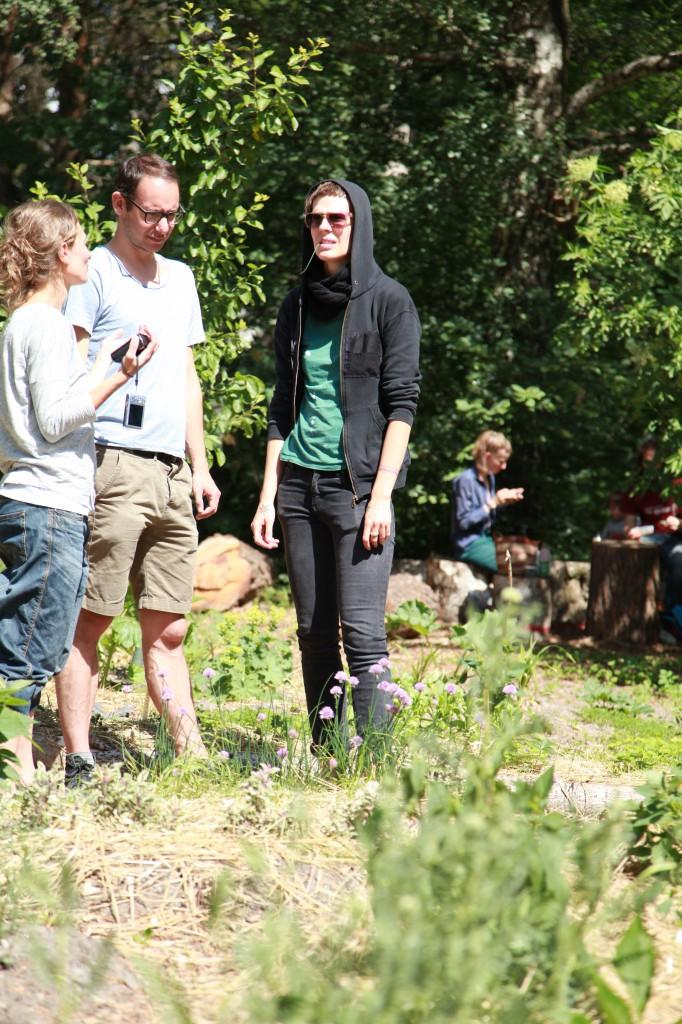 Bagisodlarna, Gröna Linjen cykelsafari ©Ulrika Flodin Furås