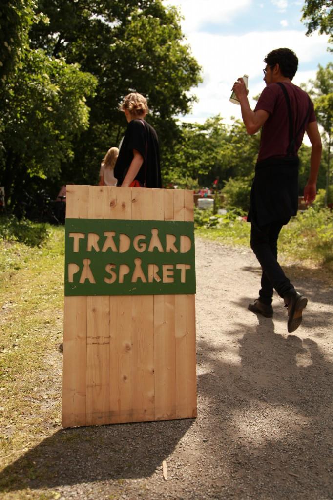 Trädgård på spåret, Gröna linjen cykelsafari ©Ulrika Flodin Furås