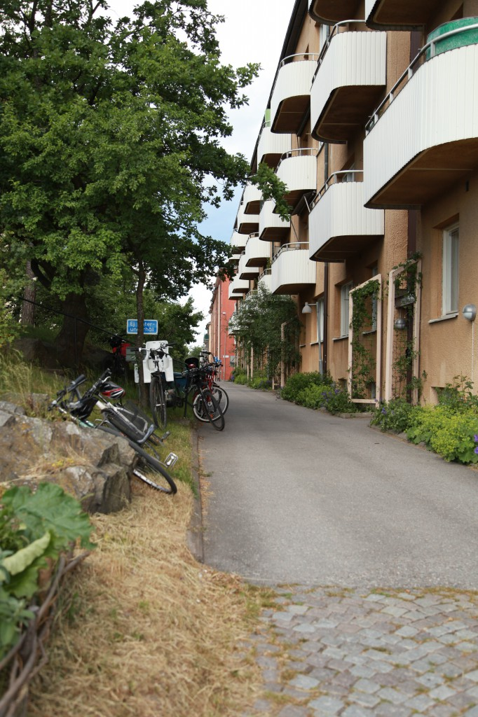 Sista stoppet för dagen, Gröna linjen cykelsafari ©Ulrika Flodin Furås