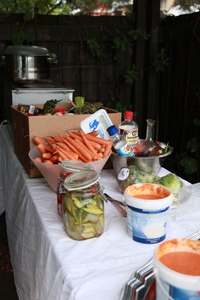 No waste food, Mälarpiraterna i Fredhäll, Gröna linjen cykelsafari ©Ulrika Flodin Furås