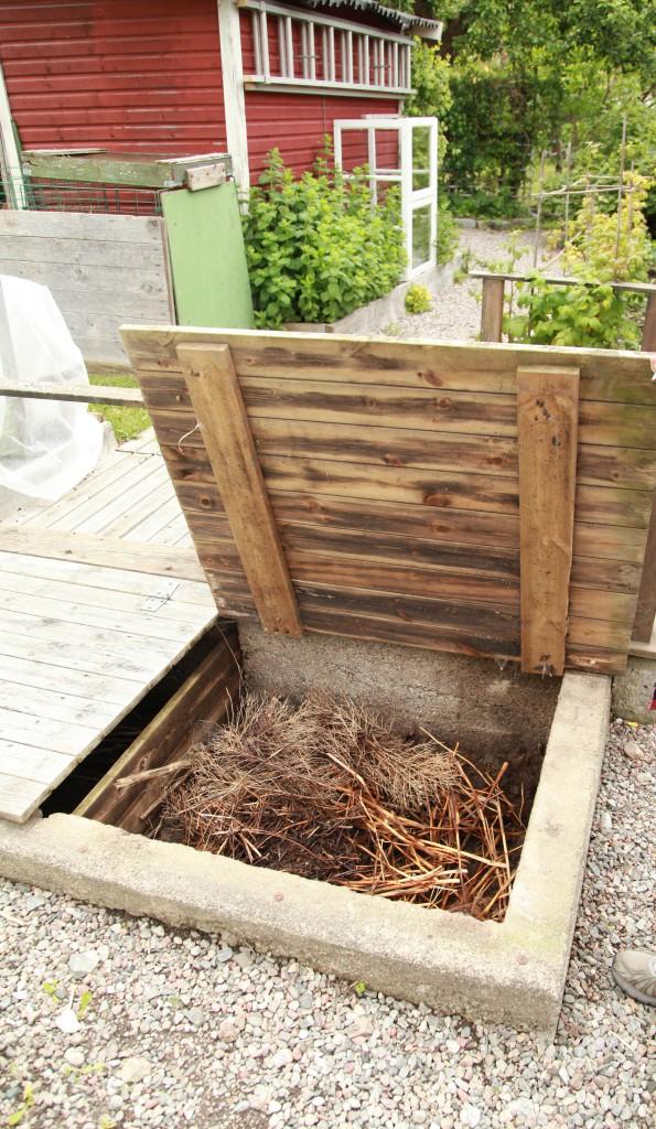 Kompostgrav ©Ulrika Flodin Furås