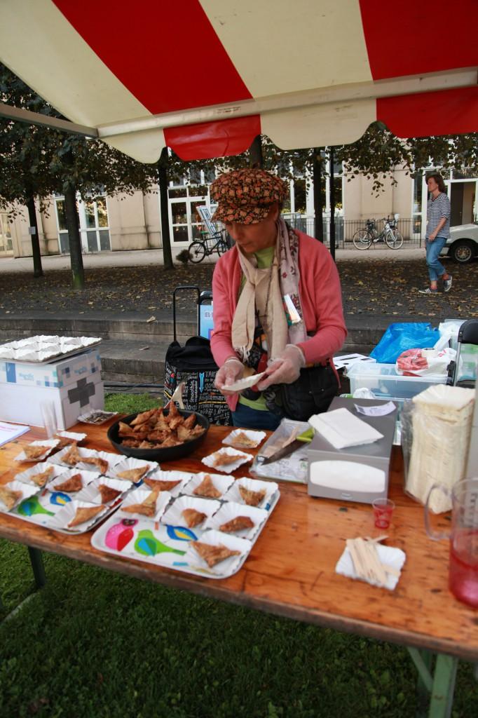 Stadsoldarefestivalen, kolonikockarna i farten©Ulrika Flodin Furås