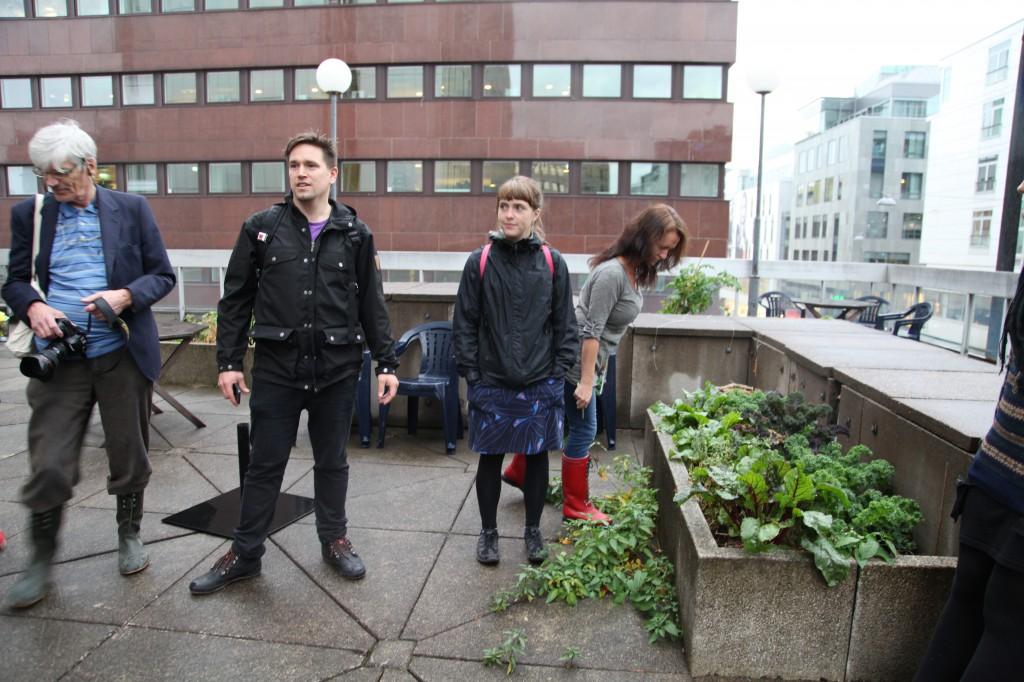 Gröna Linjen besöker Takodlarna Sergel ©Ulrika Flodin Furås