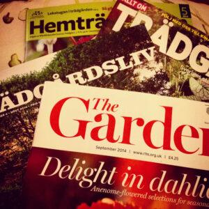 trädgårdstidningar Iphone ©Ulrika Flodin Furås