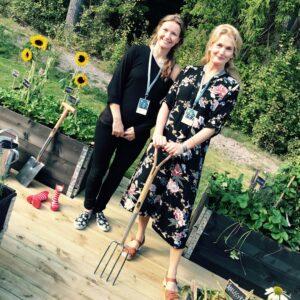 Therese och Malin, JM Stadsbyggnadsdag @Ulrika Flodin Furås