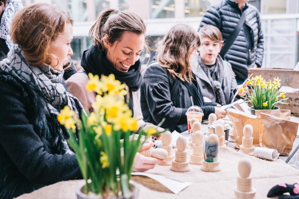 Moodgallerian, odlingsworkshop ©Evan Pantiel