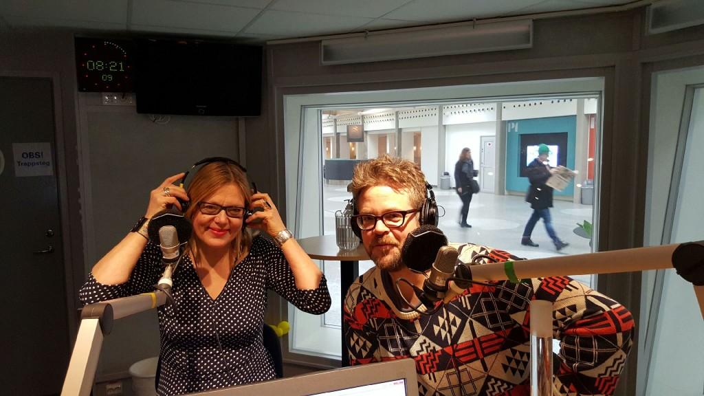 I studion radio Sthlm