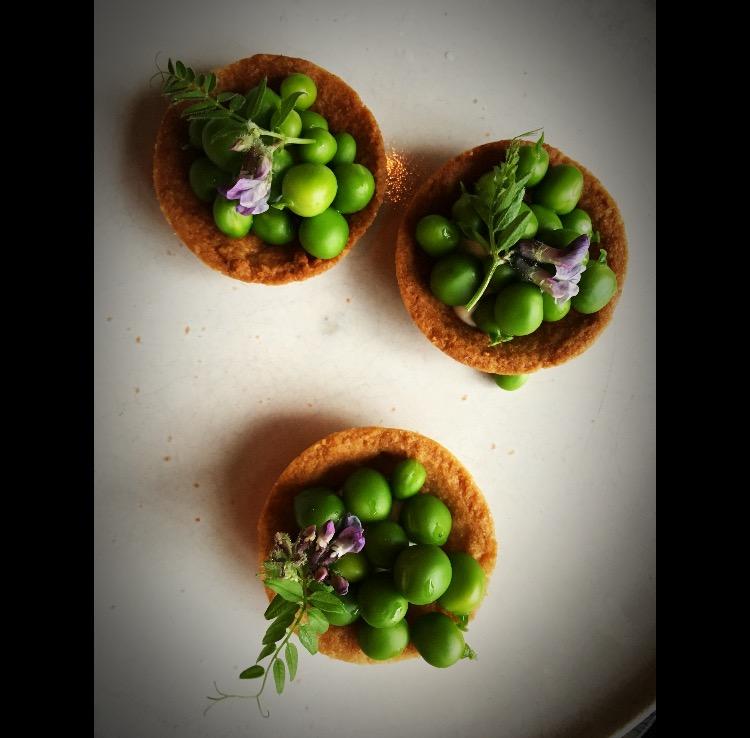 Mat ifrån vasamuseets trädgård