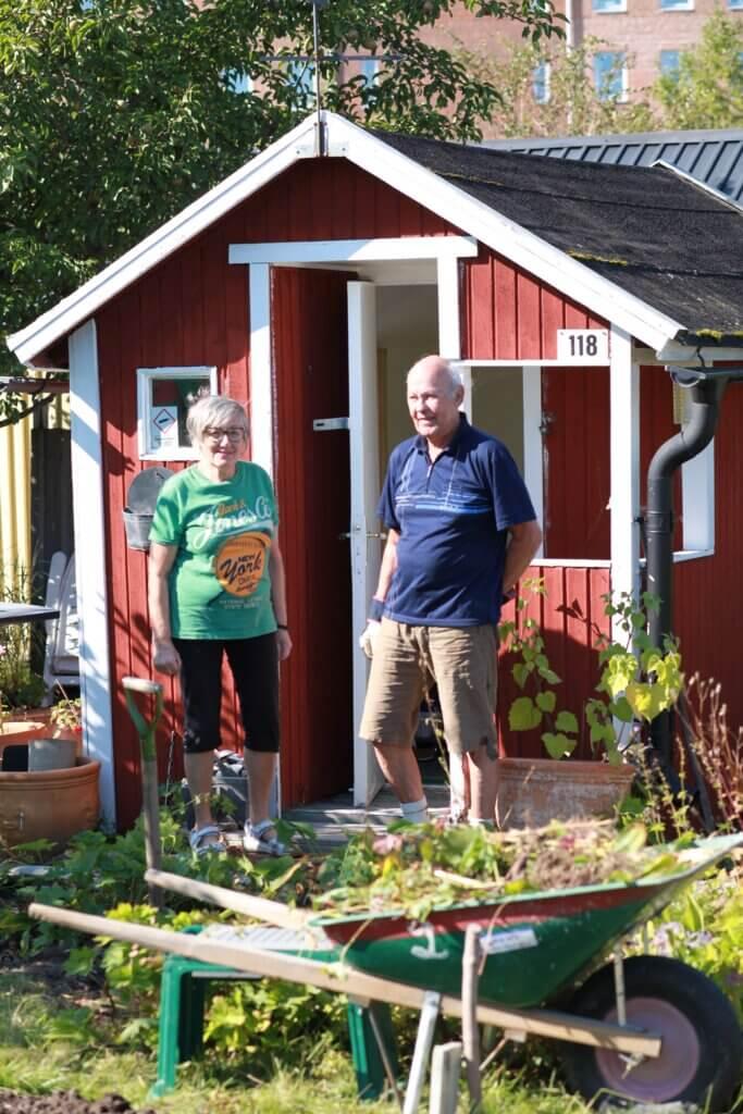 Alnängarna koloniområde Örebro