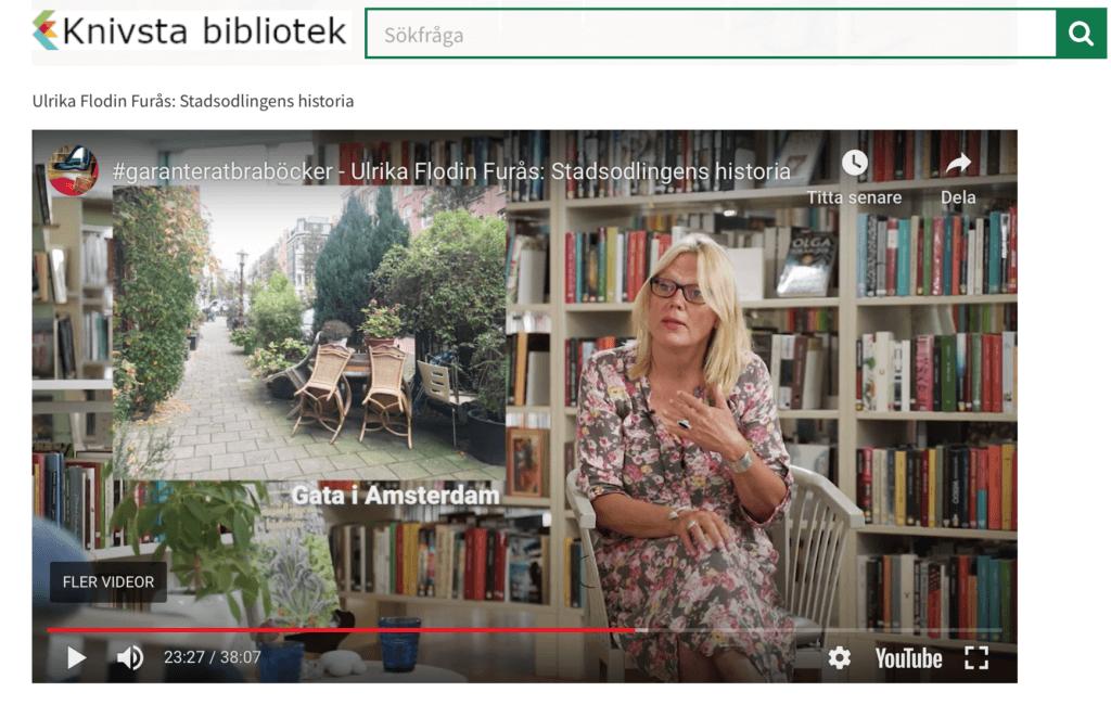 Författarsamtal på Knivsta bibliotek
