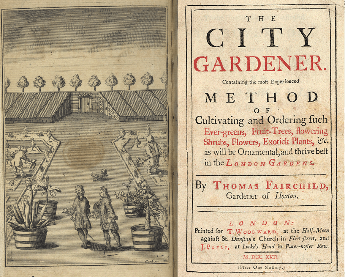 The City Gardener Thomas Fairchild